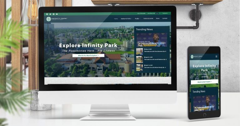 Infinity Park Unveils a New Streamlined Website
