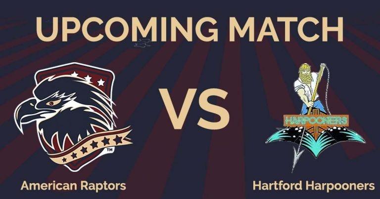 American Raptors vs Hartford Harpooners